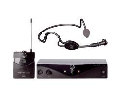 Радиосистема AKG Perception WMS45 sport set с портативным передатчиком и с оголовьем C544L 4-8 каналов