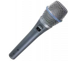 Микрофон SHURE Beta 87А конденсаторный суперкардиоидный вокальный
