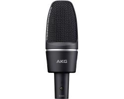 Микрофон AKG C3000 конденсаторный, кардиоидный, держатель H85 в комплекте