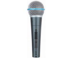 Микрофон APEXTONE DM20 динамический с выключателем