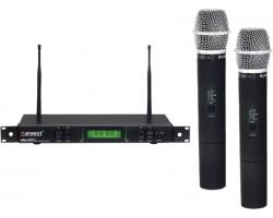 Радиосистема KARSECT KRU8/KST-1U двухантенная UHF 2 ручных микрофона