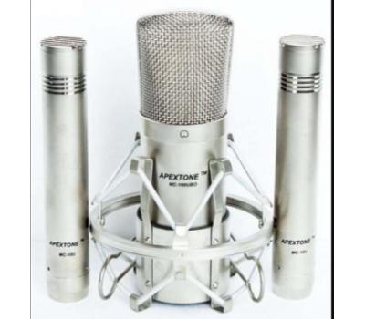 Набор микрофонов APEXTONE MP01 конденсаторные, в кейсе
