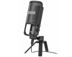 Микрофон RODE NT-USB конденсаторный, поп-фильтр, настольная подставка, 6м USB кабель