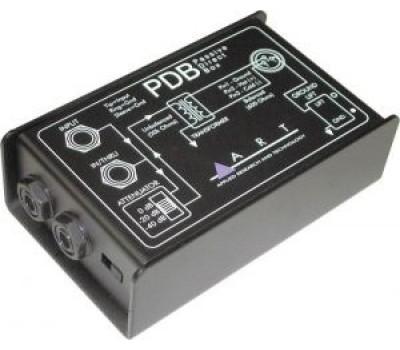 Di-Box ART PDB вход-джек,выход-джек,XLR