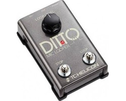 Педаль TC HELICON DITTO Mic Looper для вокалистов