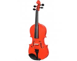 Скрипка 4/4 BRAHNER BVC370MRD окрашенная, цвет красный металик, со смычком в футляре
