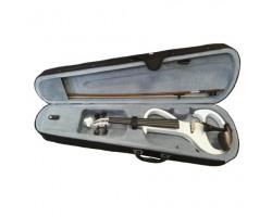 Электроскрипка 4/4 BRAHNER EV505 контурная, встроенный активный темброблок, со смычком в футляре