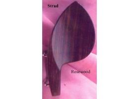 Подбородник для скрипки 4/4 WBO VC09Eu модель Strad черное дерево крепление U