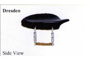 Подбородник для скрипки 4/4 WBO VC11Ru модель Dresden,палисандр крепление U
