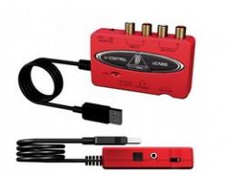USB-интерфейс BEHRINGER U-Control UCA222 внешний для записи и воспроизведения звука