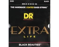 Струны DR BKB45 Black Beauties 45-105 д/бас-гитары