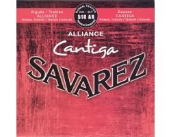 Струны SAVAREZ 510AR Alliance Cantiga нормального натяжения карбон/серебрянная обмотка для классческой гитары