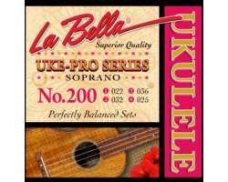 Струны LA BELLA 200 Uke-Pro для укулеле сопрано