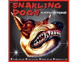 Струны D'ANDREA SDN09EB Snarling dogs 9-42 никелированная навивка для электрогитары