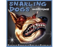 Струны D'ANDREA SDN40 Snarling dogs 40-95 никелированная навивка для бас-гитары
