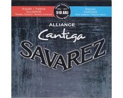 Струны SAVAREZ 510ARJ Alliance Cantiga смешанного натяжения карбон/серебрянная обмотка для классической гитары