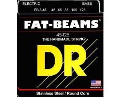 Струны DR FB5-45 45-125 для 5-стр.бас-гитары