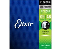 Струны ELIXIR 19027 OptiWeb 9-46 для электрогитары