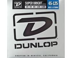 Струны DUNLOP DBSBN45125 никель 45-125 для 5-струнной бас-гитары