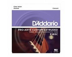 Струны D'ADDARIO EJ65C для укулеле концерт