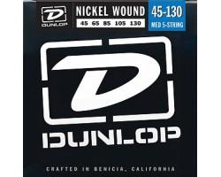 Струны DUNLOP DBN45130 45-130 д/бас-гитары 5 стр.