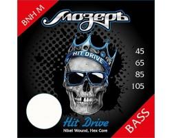 Струны Мозеръ BNH M 45-105 никелированная навивка бас-гитары