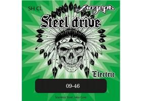 Струны МОЗЕРЪ SH-CL 9-46 Steel Drive для электрогитары сталь