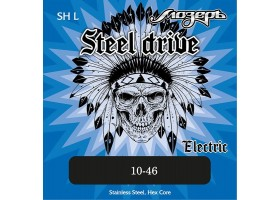 Струны МОЗЕРЪ SH-L 10-46 Steel Drive для электрогитары сталь