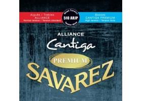 Струны SAVAREZ 510ARJP Alliance Cantiga PREMIUM смешанного натяжения карбон/серебряная обмотка для классической гитары