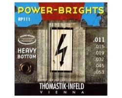 Струны THOMASTIK RP111 Power-Bright Heavy Bottom 11-53 для электрогитары