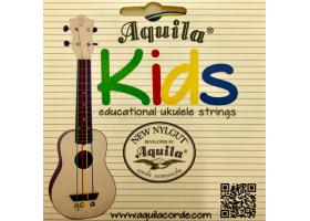 Струны AQUILA Kids 160U для укулеле сопрано/концерт/тенор разноцветные