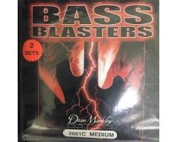 Струны DEAN MARKLEY 2661A 40-100 для бас-гитары (2 комплекта)
