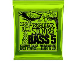 Струны ERNIE BALL 2836 45-130 д/5 стр.бас-гитары