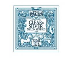Струны ERNIE BALL 2403 нейлон clear/silver