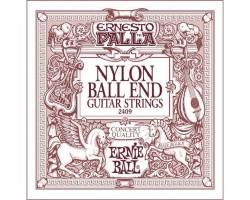 Струны ERNIE BALL 2409 нейлон black/bronze д/кл.гитары