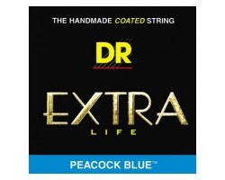 Струны DR CBB45 Cool Blue 45-105 д/бас-гитары цветные
