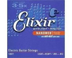 Струны ELIXIR 12302 NanoWeb 12-68 д/эл.гитары