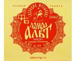 Струны ГОСПОДИН МУЗЫКАНТ DA62FB д/домры альт сталь+фосф.бронза