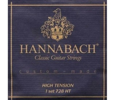 Струны HANNABACH 728HTC Custom Made карбон жесткое натяжения для классической гитары