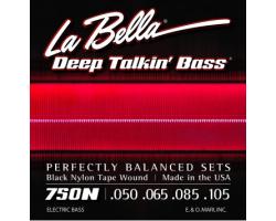 Струны LA BELLA 750N для бас-гитары с нейлоном
