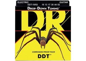 Струны DR DDT10/52 10-52 никелированная навивка для электрогитары