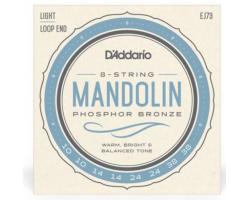 Струны D'ADDARIO EJ73 для мандолины фосфор/бронза