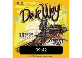 Струны МОЗЕРЪ NR-EL Drive Way 9-42 для электрогитары. никелированная навивка