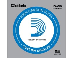Струна D'ADDARIO PL 016 д/эл-,акуст.гитары