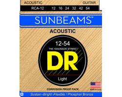 Струны DR RCA12 12-54 фосфор/бронза для акустической гитары