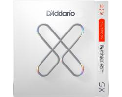 Струны D'ADDARIO XSAPB1047 XS 10-47 фосфор/бронза для акустической гитары