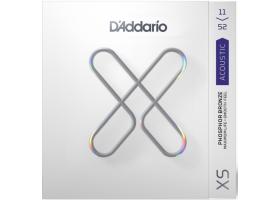 Струны D'ADDARIO XSAPB1152 XS 11-52 фосфор/бронза для акустической гитары