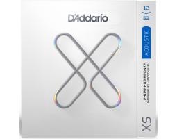 Струны D'ADDARIO XSAPB1253 XS 12-53 фосфор/бронза для акустической гитары
