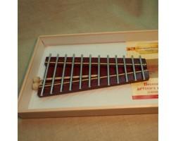 Металлофон зч-мт-612 диатонический Ля мажор 12 нот на низком резонаторе