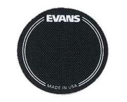 Наклейка EVANS EQPB1 круглая на рабочий пластик бас-барабана черная